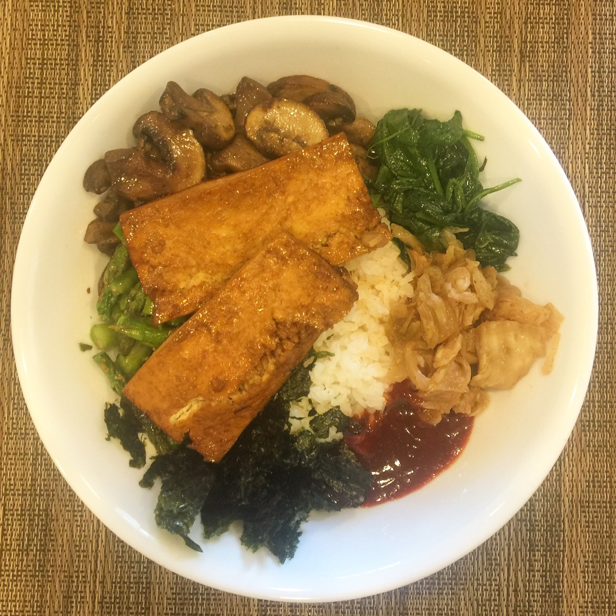 Easy Vegan Bibimbap